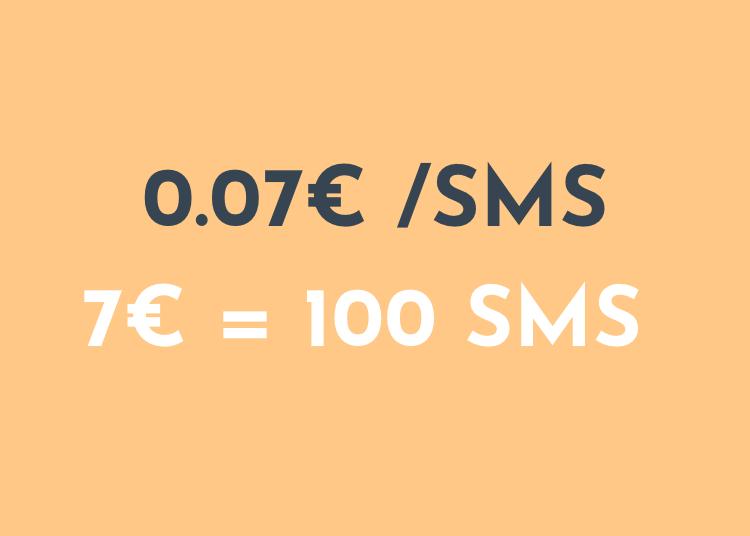 SMS-meeldetuletuste hind
